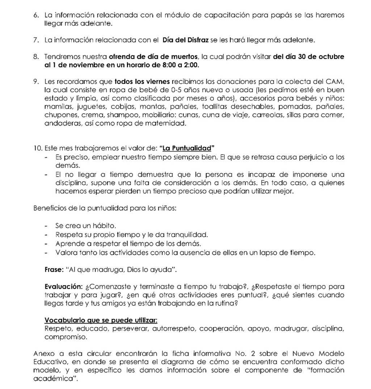circular español 2-oct 2018