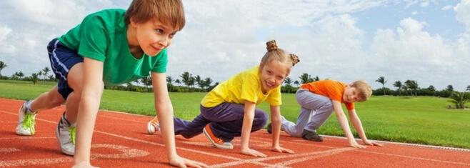 5 ventajas del atletismo en niños de primaria