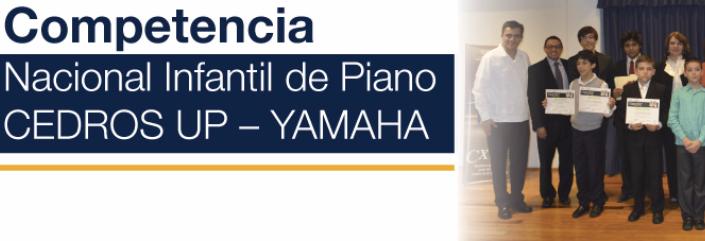 2º Concurso Nacional Infantil de Piano CEDROS UP – YAMAHA