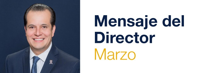 Mensaje del Director de Marzo