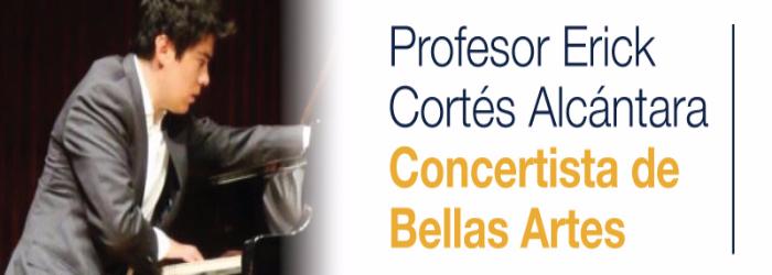 Concertista de Bellas Artes imparte clases de piano en Cedros
